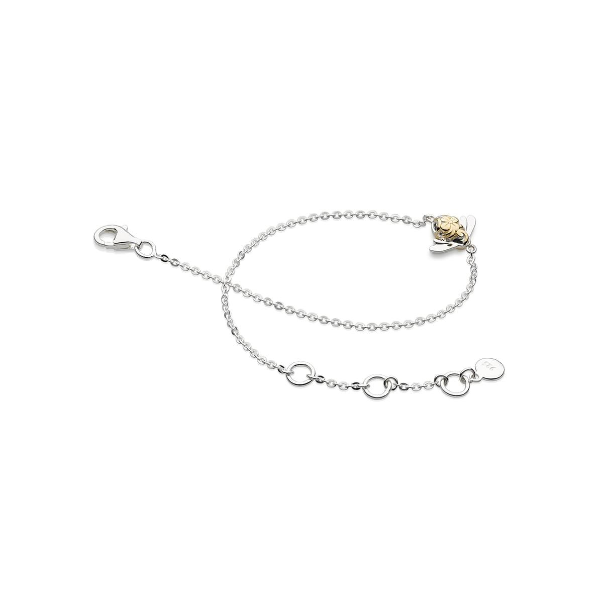 Kit Heath Blossom Bumblebee Single Gold Plate Bracelet